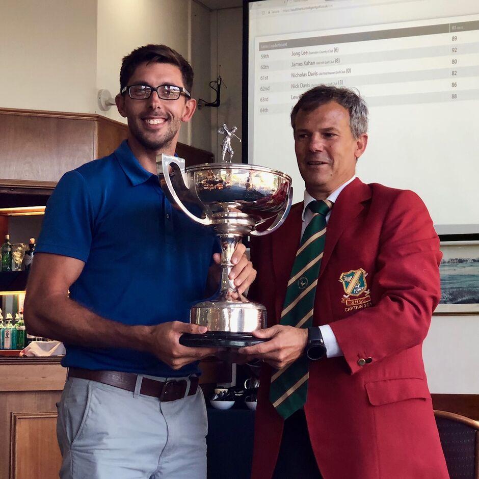South Herts Golf Club, Vardon Rees Winner, Open Golf,